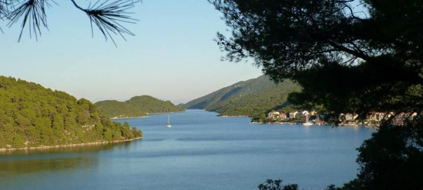 Sailing the Dalmatiancoast….