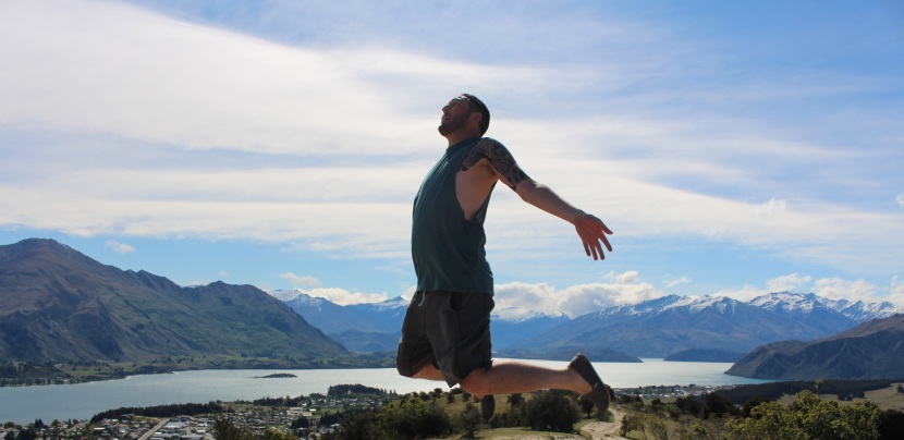 Jumping in Queenstown, New Zealand….