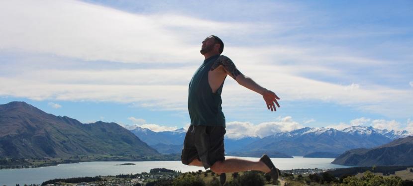 Jumping in Queenstown, NewZealand….