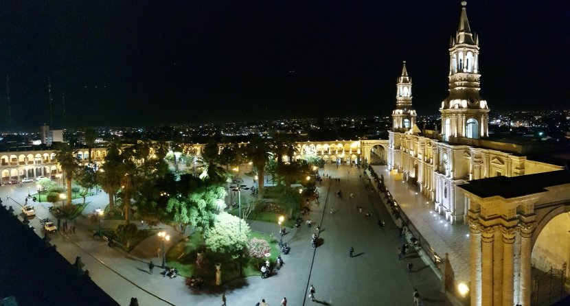 Acquired tastes in Arequipa…