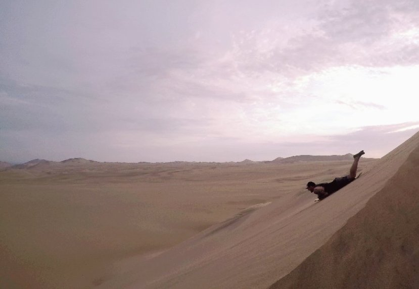 Sandboards and sunsets in Huacachina…..